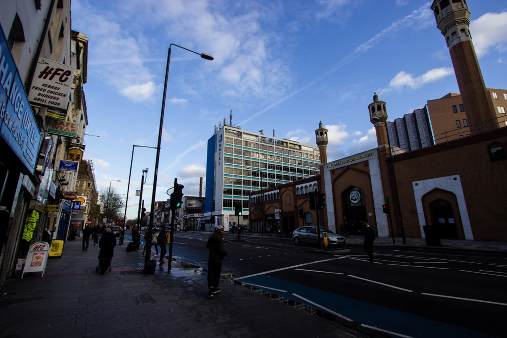 Außenansicht des Ibis Budget Hotel Whitechapel London