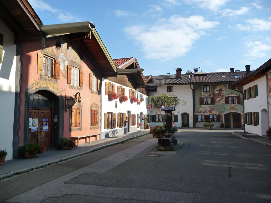 ältester Ortsteil Mittenwalds: Gries