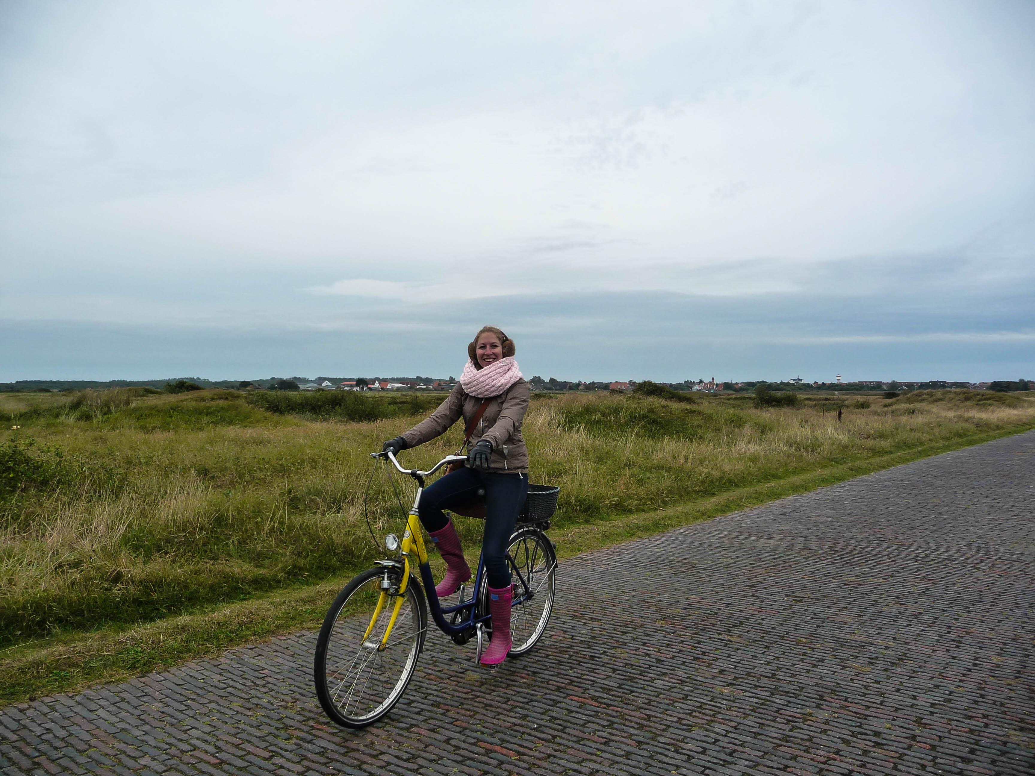 Radtour auf Langeoog