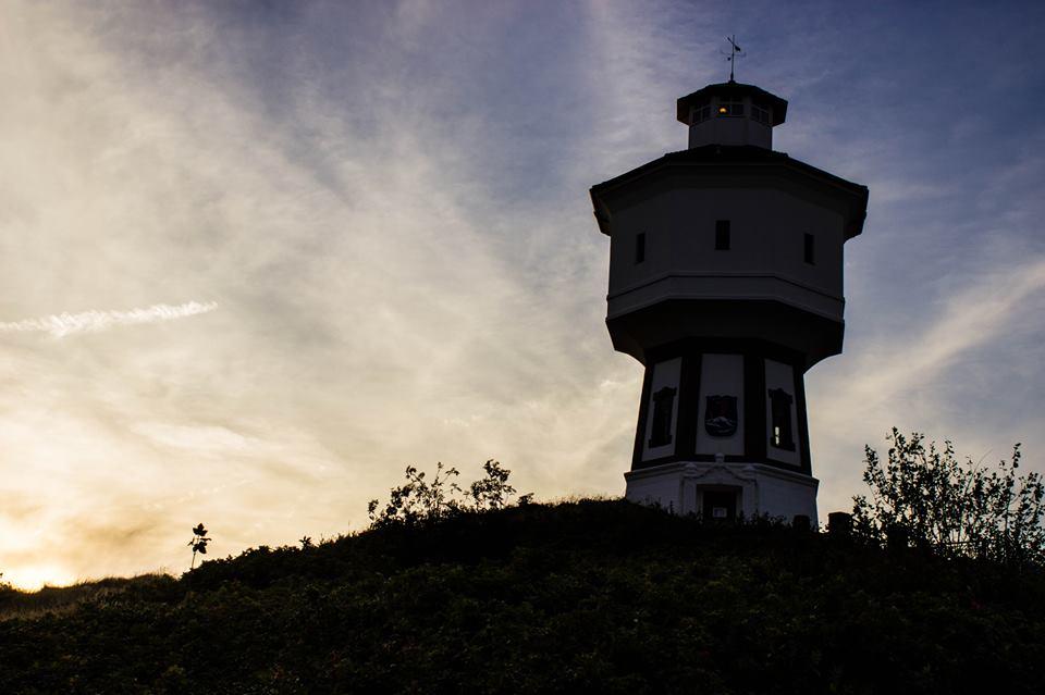 Wohl das beliebteste Fotomotiv - Der Wasserturm von Langeoog