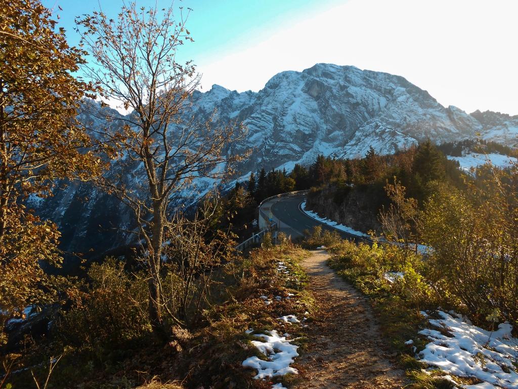 Herbststimmung auf der Rossfeld-Panoramastraße