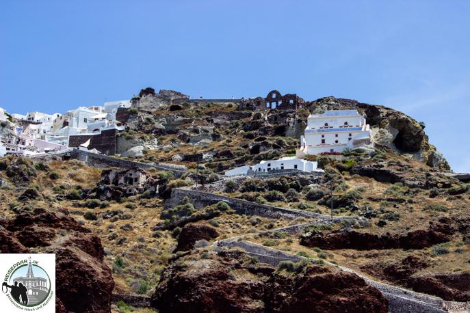 Eselreiten Santorini 005