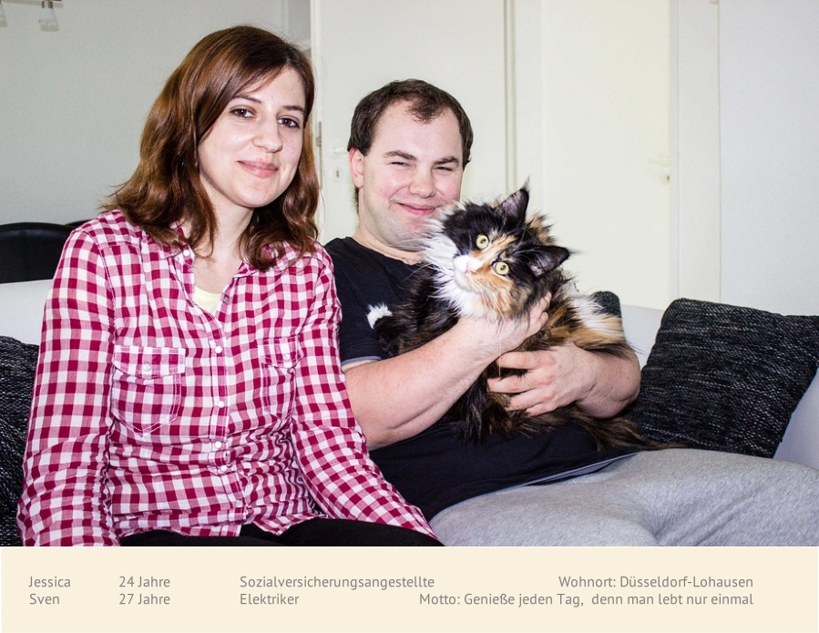 Jessica, Sven und Gil