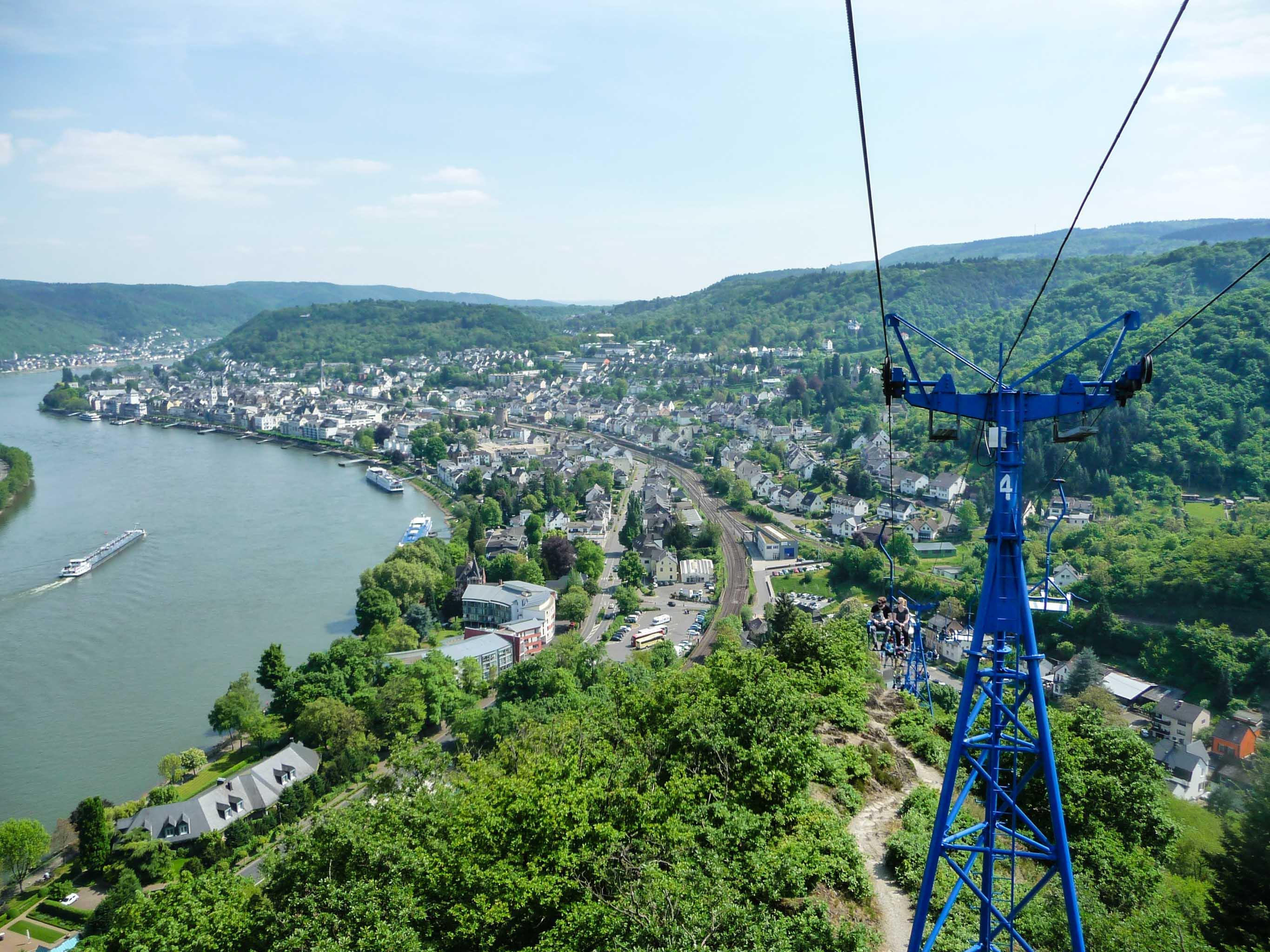 Klettersteig Rheinsteig Boppard : Mittelrhein klettersteig boppard freiweg outdoor activity