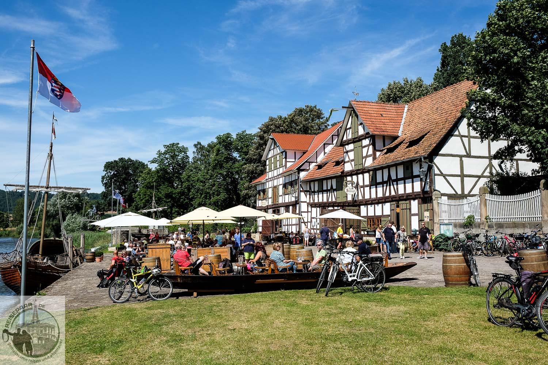 Hafen Wanfried Restaurant Zur Schlagd