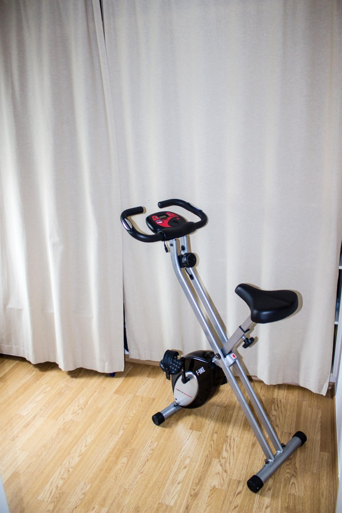 Abstell- und Semi-Fitnessraum