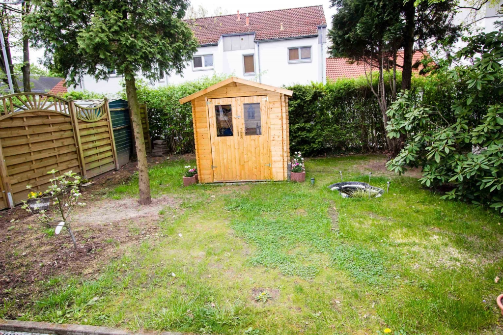Der Gartenbereich