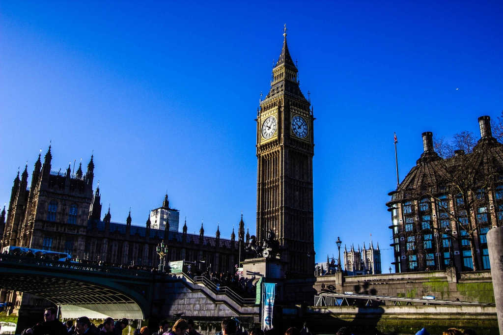 Palace of Westminster mit der Big Ben