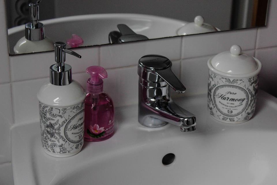 Larissas Waschbecken