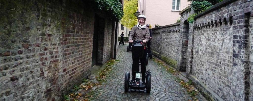 Segway Tour Düsseldorf Titelbild